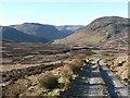 NN9032 : Moorland track by Rob Burke