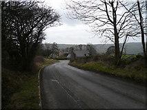 SK2962 : Farley Farm and Bottom Farm viewed from Farley Hill by Alan Heardman