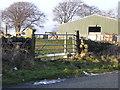 NZ1552 : Lane End Farm, Pontop Pike Lane by brian clark