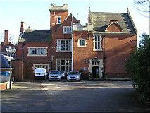 SJ8504 : Pendrell hall, main entrance by Jack Barber