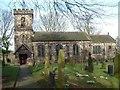 SJ9250 : St. Chad's Church, Bagnall by Steven Birks