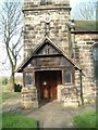 SJ9250 : Tower of St. Chad's Church, Bagnall by Steven Birks