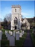 ST9929 : St George's Church, Fovant by Maigheach-gheal