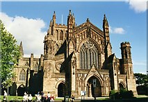 SO5039 : Hereford Cathedral by Tom Pennington