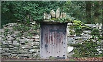 NY3916 : Gate in Wall, Patterdale Hall Estate by Mick Garratt
