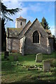 SO8035 : St Peter and St Paul's church, Birtsmorton by Philip Halling