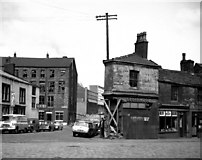SD8913 : Geoff  Wood's shop, Cheetham Street, Rochdale, Lancashire by Dr Neil Clifton