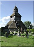 SO3958 : Bell tower S Mary, Pembridge Heref. by John Salmon