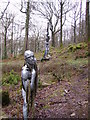SD3393 : Sculpture, Bogel Wood by Michael Graham
