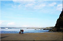 SW8162 : Newquay in the Winter by Tony Hodge