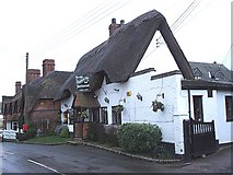 SP7330 : The Thatched Inn & Restaurant, Adstock by Rob Farrow