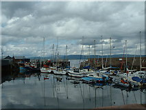 NH7867 : Cromarty Harbour by Chris Wilson