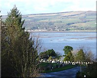 NS3373 : Port Glasgow Cemetery by Thomas Nugent