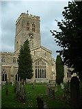 SP7006 : Church and churchyard: St Marys Thame by Chris Wilson