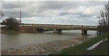 TL4279 : Bridge At Sutton Gault by Peter Easton