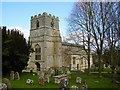SU2483 : St Mary the Virgin church, Bishopstone, Swindon by Brian Robert Marshall