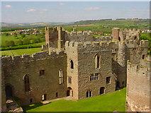 SO5074 : Ludlow Castle by Debbie Brown