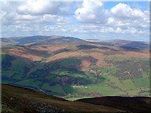 SO2620 : Looking NNE from the Sugar Loaf by Barrie Jenkins