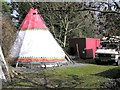 H2059 : Tepee at Moynaghan North by Kenneth  Allen