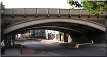SK3436 : Friargate Railway Bridge by Betty Longbottom