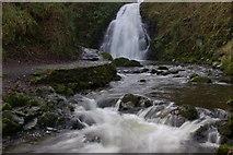 J3996 : Glenoe waterfall (9) by Albert Bridge