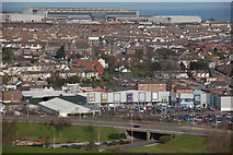 D4002 : Site of former paper mill, Larne by Albert Bridge