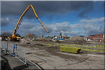 SO8453 : Development of Diglis, Worcester by Philip Halling