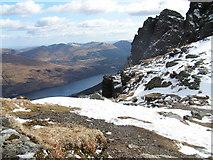 NN2505 : Loch Long From Ben Arthur Summit by Roddy McLeod