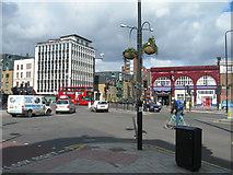 TQ3179 : Kennington Road / Westminster Bridge Road by Danny P Robinson