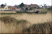 SU3613 : Bridges at Redbridge by Jim Champion