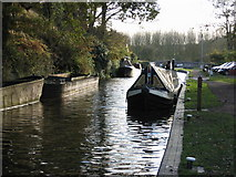 SO8688 : Greensforge, Staffordshire and Worcestershire Canal by Peter Wasp