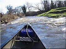 NT5374 : River rapids by Alastair Seagroatt