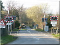 TM1482 : Level Crossing by Richard Rice