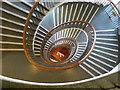 NZ4920 : Spiral Staircase, Binn's Department Store by Frank Glover