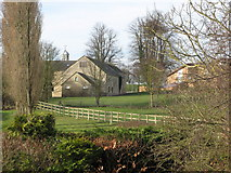 SP5906 : Back of Wheatley Park School by Chris Heaton
