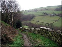 SE0328 : Ridings, Luddenden Dean by Paul Glazzard