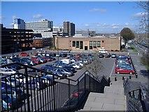SU1584 : Magistrates Court, Swindon by Roger Cornfoot