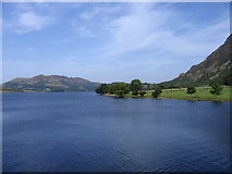 NY1618 : Crummock Water from Hause Point by DANNY SEWARD