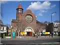 TQ4085 : Forest Gate: Woodgrange Baptist Church, E7 by Nigel Cox