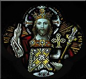 TL1314 : St Nicholas, Harpenden, Herts - Window by John Salmon