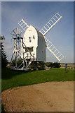 TL4138 : Chishill windmill by Jim Woodward-Nutt