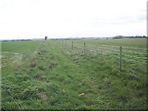 SU0746 : Footpath to Elston from near the Bustard Inn by Maigheach-gheal