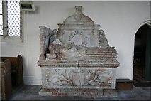 SK7645 : Edward Burnell's tomb by Richard Croft