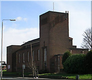 SE2534 : Church of the Venerable Bede, Stanningley Road by Betty Longbottom