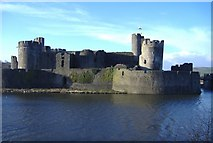 ST1587 : Caerphilly Castle by Roger Cornfoot