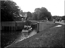 SU9477 : Boveney Lock, River Thames by Dr Neil Clifton