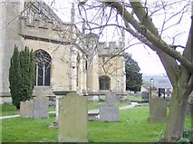 SP0228 : St. Peter's Church, Winchcombe by Graham Horn