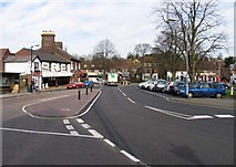 TL1314 : High Street, Harpenden by John Salmon