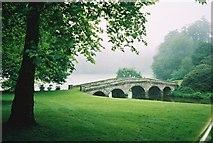 ST7733 : The bridge at Stourhead by Graham Horn