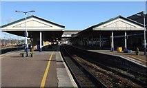 SX9193 : St David's station, Exeter by Derek Harper